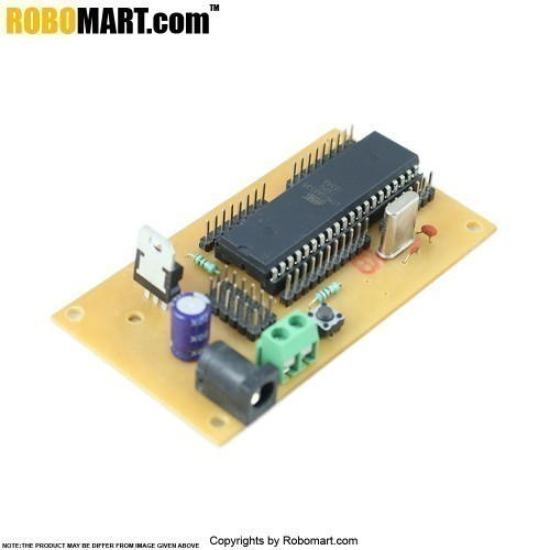 ATMEGA 16 Project Board with Controller