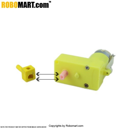 4 MM BO Motor Coupling
