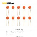 100pF Ceramic Capacitor (Pack of 10)