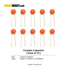 5600pF (562) Ceramic Capacitor(Pack of 10)