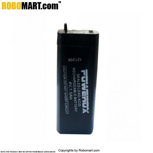 4V / 1.5 AH Rechargeable Battery for Arduino/Raspberry-Pi/Robotics