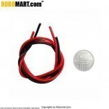 Wire for Crocodile / Battery Clip for Arduino/Raspberry-Pi/Robotics (Red & Black)