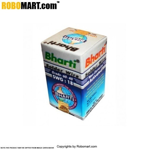 bharti flux cored solder wire 50 gms