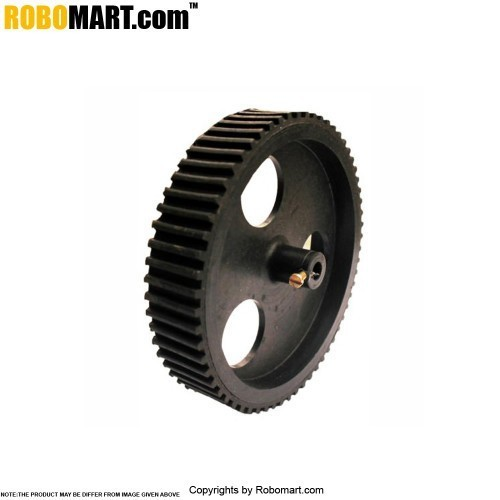 Robosapiens 4'' Black Screw Mount Tyre V 2.0