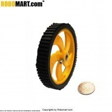 "3.5"" Pro Tyre V 2.0 (6 MM Shaft) for Arduino/Raspberry-Pi/Robotics"