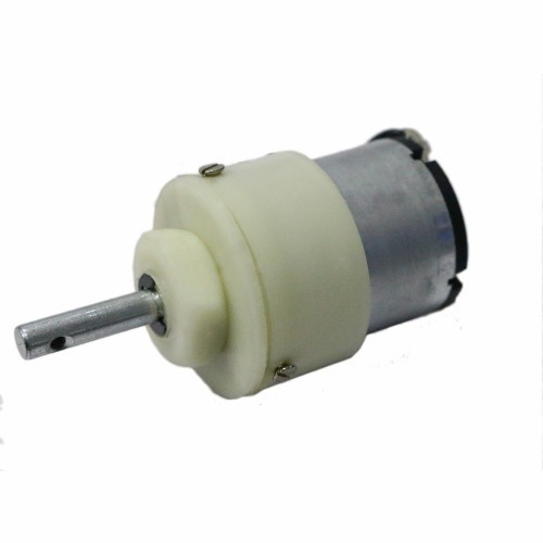 500 RPM Center Shaft Metal Gear DC Motor for Arduino/Raspberry-Pi/Robotics