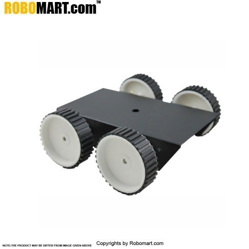 4 Wheel Robotic Platform V1.0 (4x4 Drive)