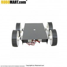 4 Wheel Robotic Platform V1.0 for Arduino/Raspberry-Pi/Robotics (2x4 Drive)