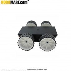 4 Wheel Robotic Platform V2.0 for Arduino/Raspberry-Pi/Robotics (4x4 Drive)