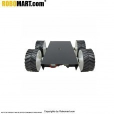 4 Wheel Robotic Platform V2.0 for Arduino/Raspberry-Pi/Robotics (2x4 Drive)