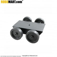 4 Wheel Robotic Platform V3.0 for Arduino/Raspberry-Pi/Robotics (4x4 Drive)