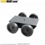 4 Wheel Robotic Platform V3.0 for Arduino/Raspberry-Pi/Robotics (2x4 Drive)