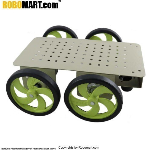 4 Wheel Robotic Platform V5.0 (4x4 Drive)
