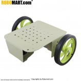 2 Wheel Robotic Platform V2.0 for Arduino/Raspberry-Pi/Robotics (2x2 Drive)