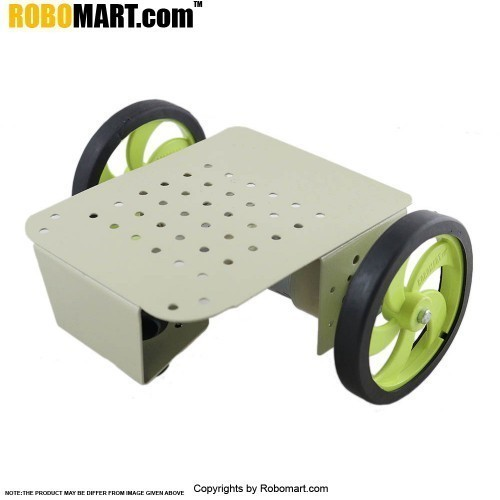 2 Wheel Robotic Platform V2.0 (2x2 Drive)