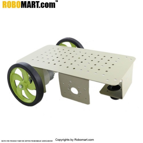 4 Wheel Robotic Platform V11.0 (2x1 Drive)