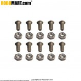 Nut Bolt Pack (Dia 6 mm, Length 5 mm)