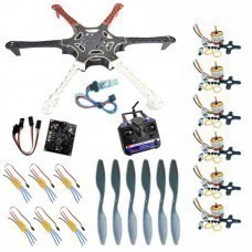 Hexacopter Combo Pack With 6 Channel Transmitter & Receiver