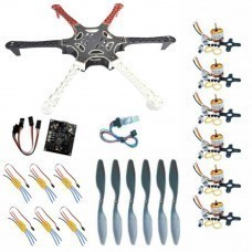 Hexacopter Mega Diy Kit With Kk Multicopter Control Board