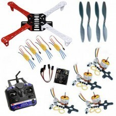 Flying Quadcopter DIY Kit Combo Pack with 6 Channel Transmitter & Receiver Using KK 2.15