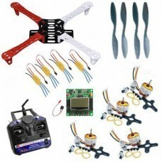 Quadcopter Combo Pack with 6 Channel Transmitter & Receiver Using KK 2.15