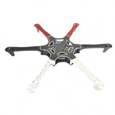 F550 Hexacopter Frame with Integrated PCB For Easy Wiring