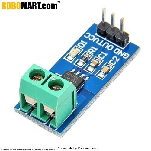 5amp hall current sensor module acs712