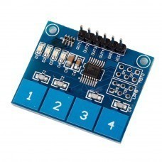 TTP224 4 Channel Digital Touch Sensor For Arduino
