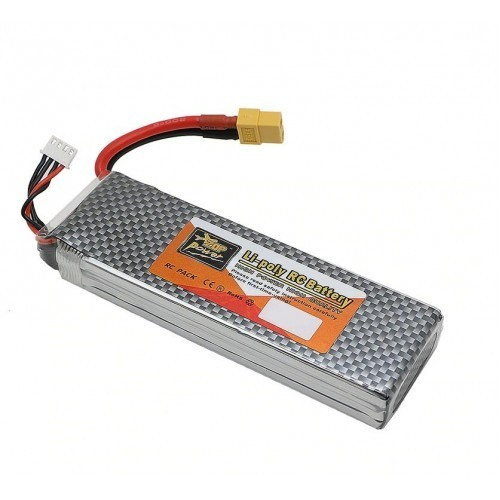 5400mAh 11.1V 25C 3 Cell Li-Polymer Battery