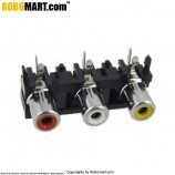 AV Connector Pair L Shape