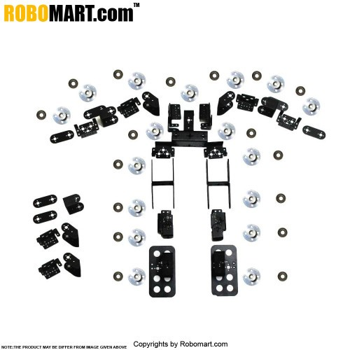 Humanoid Robot Without Servo Motors and Controller Board