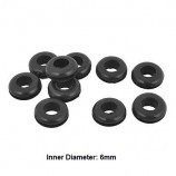 10 pcs 6 MM Rubber Cable Grommet