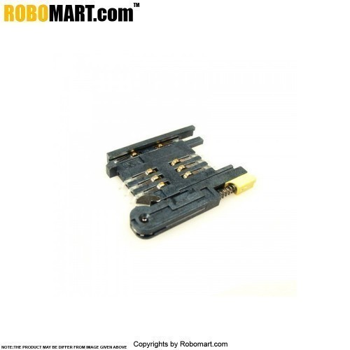 SIM Card Holder with Push Button for Arduino/Raspberry-Pi/Robotics