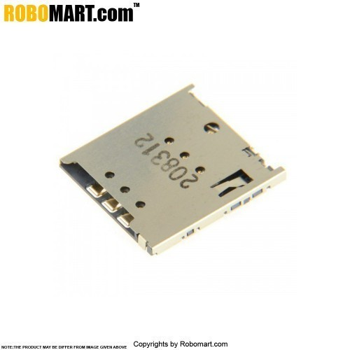 SIM Card Holder with Metal Cover