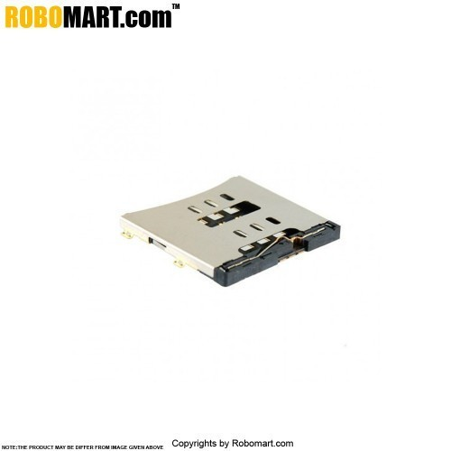 SIM Card Holder with Metal Cover for Arduino/Raspberry-Pi/Robotics