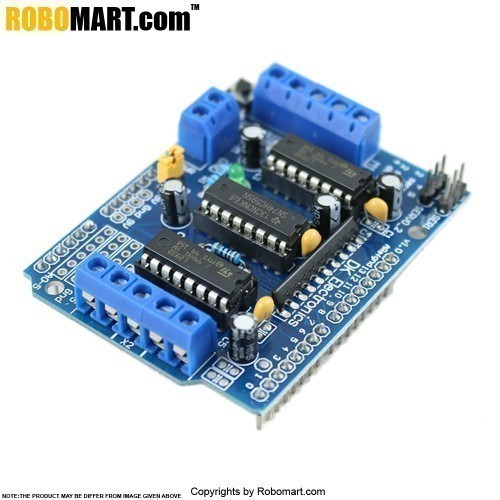l293d motor shield arduino
