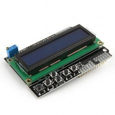 Arduino Character LCD 1602 With Keypad Shield