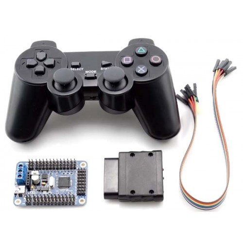 wireless ps2 controller 32 channel servo motor driver