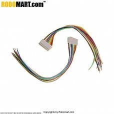 10 Pin Female Relimate to 10 Wire Bare Connector 5 inches