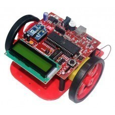 Atmega 16 based Xbee Controlled Wireless Robot