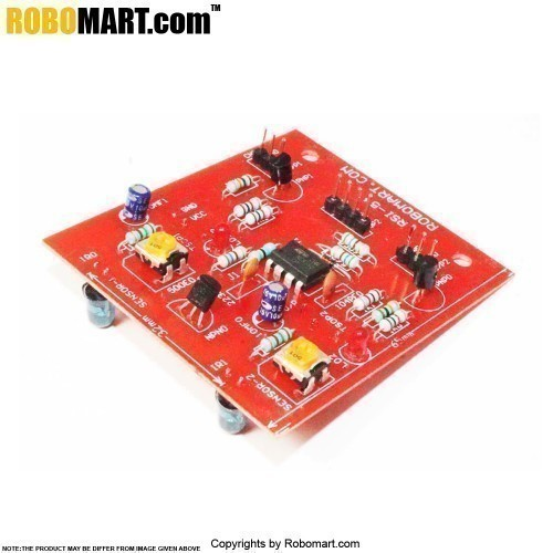 Two Color Sensor Array For Robotryst And Robothlon 2015