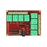8 channel 12v relay board