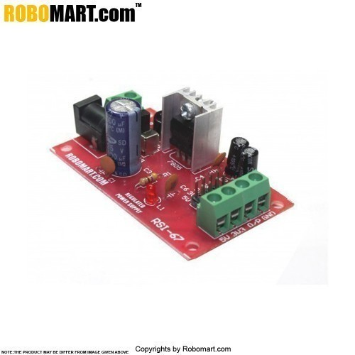 regulated power supply board