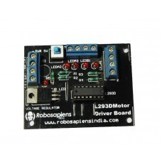 H-Bridge L293D Motor Driver Arduino Board V1.0 for Arduino/Raspberry-Pi/Robotics