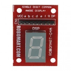 Single Digit Common Anode Seven Segment Display