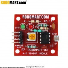 Light Sensor (LDR Small) for Arduino/Raspberry-Pi/Robotics