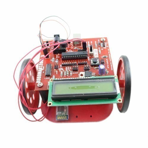 Atmega 8 based Bluetooth (HC 05) Controlled Robot