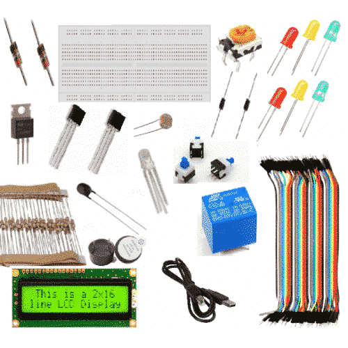 quick starter kit arduino kit