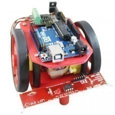 Diy robotic kits buy diy robotic kits online at best price in india light searching robot using arduino uno solutioingenieria Choice Image