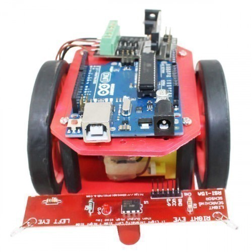 Light Searching Robot Using Arduino Uno
